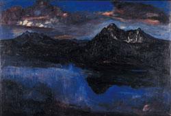 摩周岳夜景